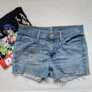 Seven For All Mankind High Waisted Joyce Shorts